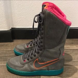 Auth Nike super hi top sneakers boots sz 6.5
